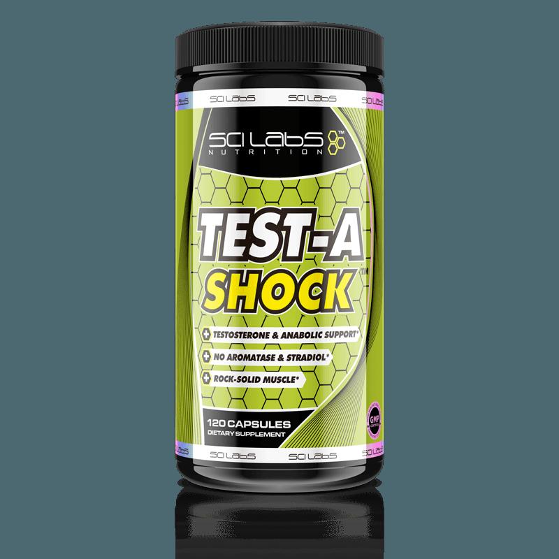 Test-a-Shock Precursor de testosterona de Scilabs Nutrition