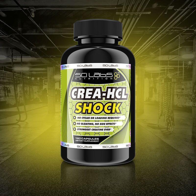 Crea HCL Shock by Scilabs Nutriton