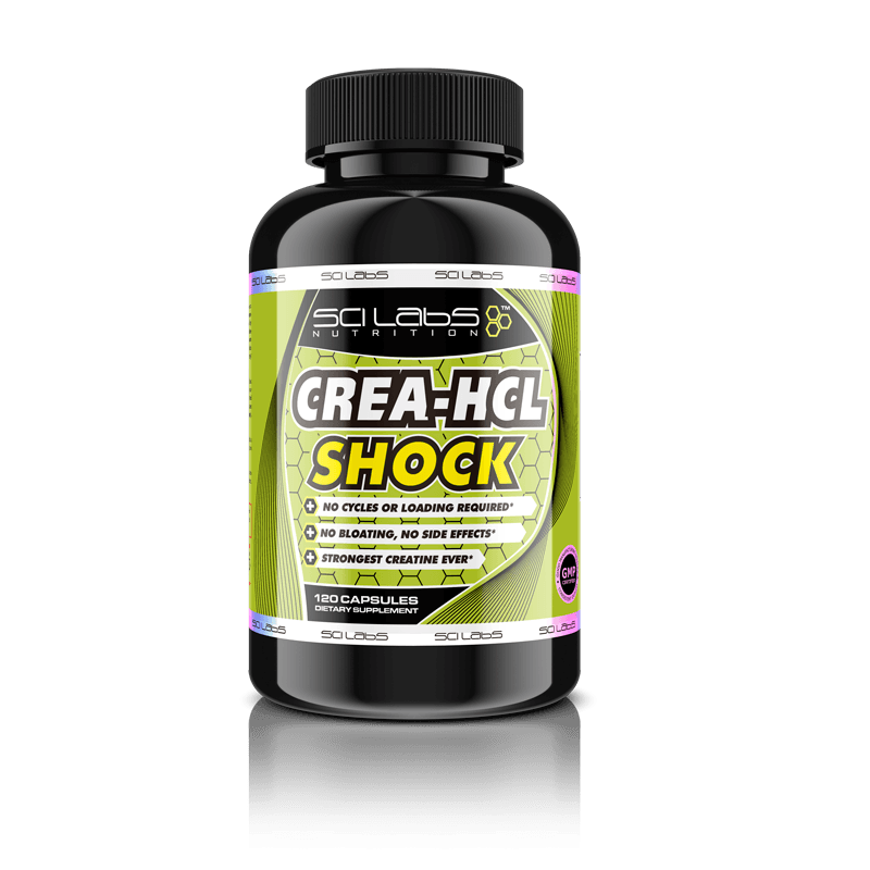 Crea-HCL-Shock Creatine HCL by Scilabs Nutrition