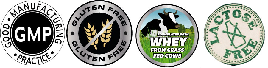 Iso Fuzion LOGOS-LACTOSE FREE, GLUTEN FREE, GMP, GRASS FED