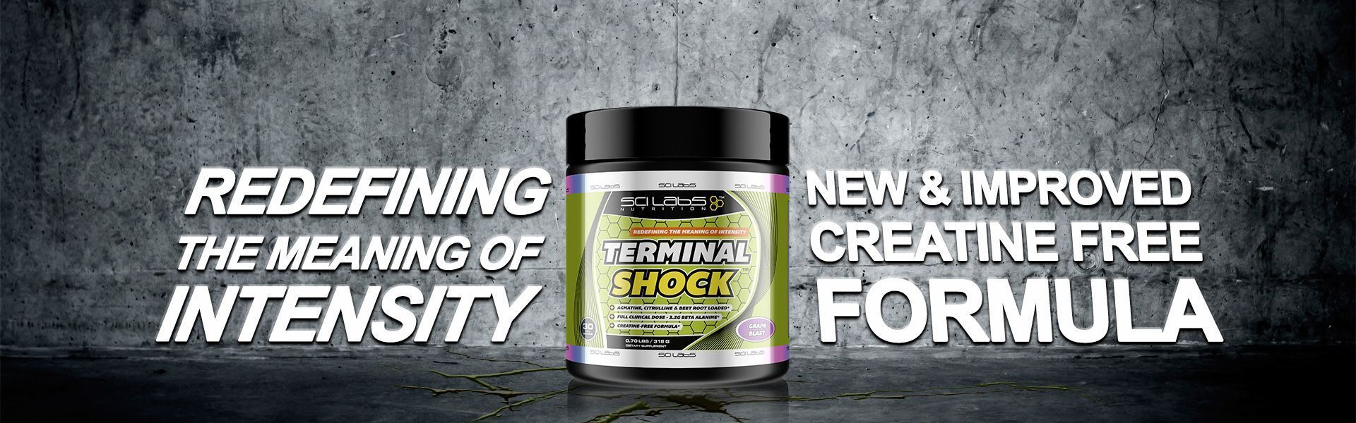 Terminal Shock - The All new Scilabs Nutrition Pre-Workout