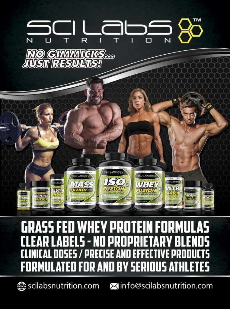 Scilabs Nutrition Team Road to Mr. Olympia 2016