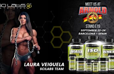 Scilabs Nutrition - Arnold Classic Europe - Laura Veiguela